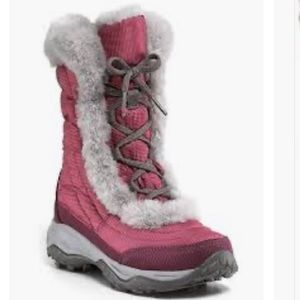 The North Face Nuptse Faux Fur Goose Down Boots